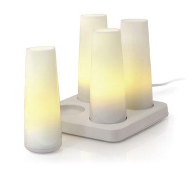 Candela Rechargeable Lamps l Imagem: Moma Store