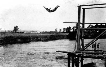 rio tietê em 1926 l imagem: ong rede das águas
