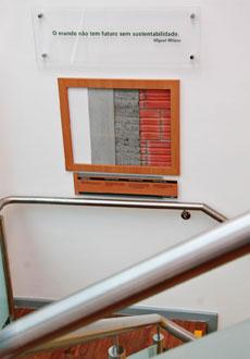 paredes com tintas à base de água e argamassa sem processo de queima | imagem: banco real