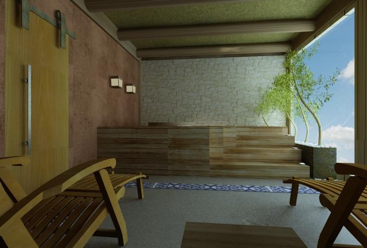 projeto de ofuro no jardim:Projeto residencial em Piracaia – 05 – Karla Cunha