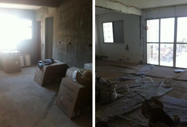 reforma residêncial em andamento no bairro de perdizes, são paulo