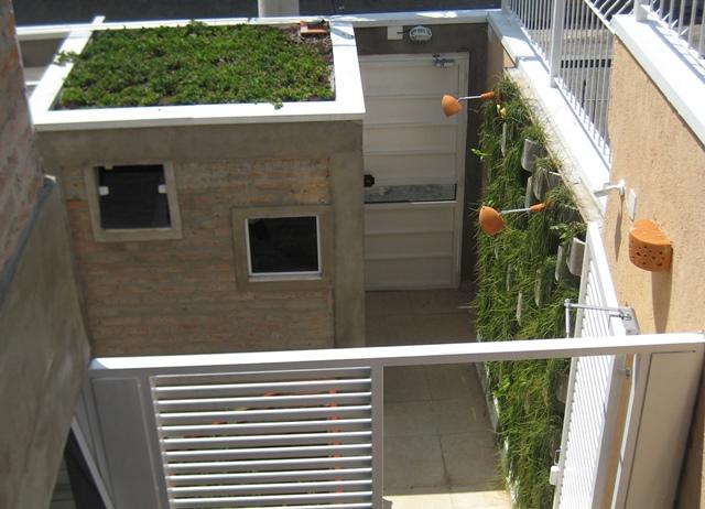 telhado verde em guarita