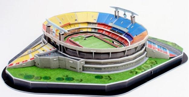 réplica do estádio do morumbi | imagem: nanostad