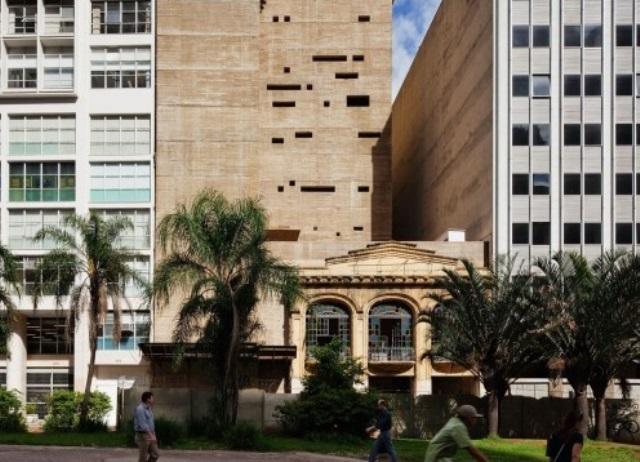 fachada preservada do cine cairo na rua formosa | imagem: vitruvius