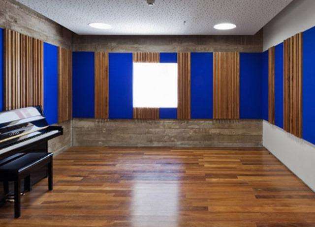 antiga sala de recitais hoje restaurada | imagem: nelson kon