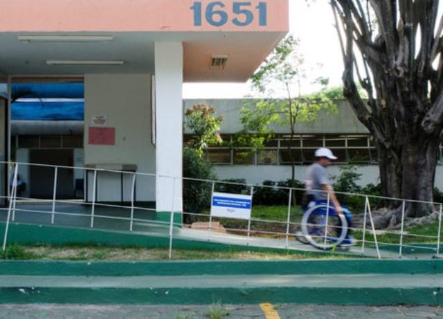 fachada do clube escola ibirapuera | imagem: bob paulino