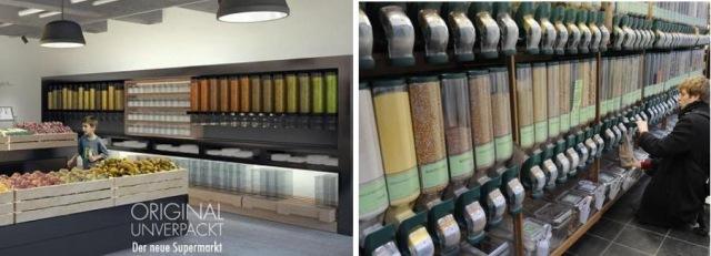 futuras instalações da loja | imagens: original unverpackt